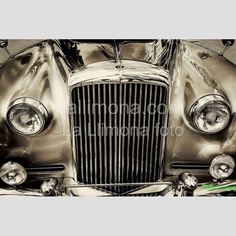 Frontal coche época 00327 Wifred Llimona · Fotografías artísticas