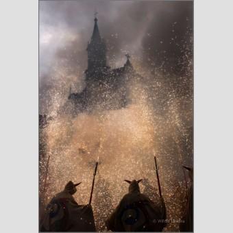 Baile fuego Diables F00634 Wifred Llimona · Fotografías artísticas