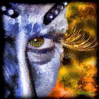 Ojos pintados F00244 detalle Wifred Llimona - Fotografías artísticas