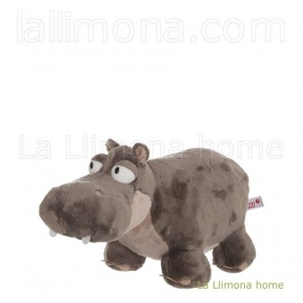 Nici hipopótamo Balduin peluche 12