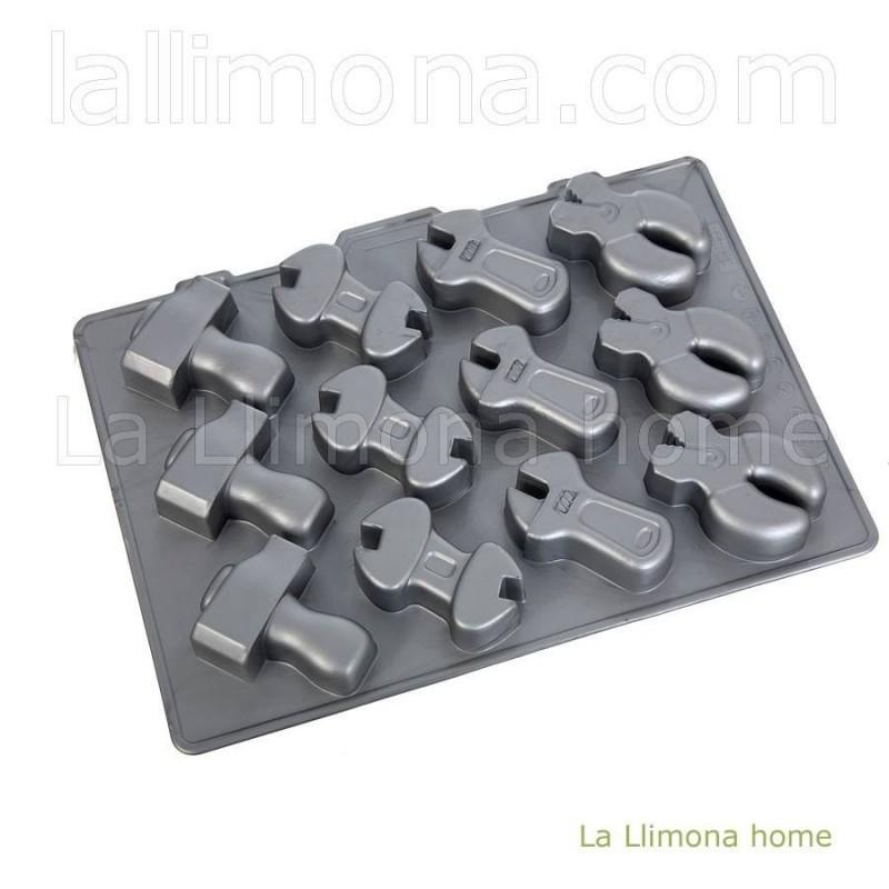 Molde silicona herramientas
