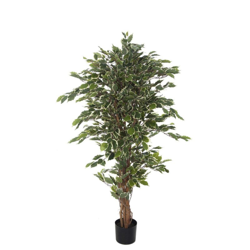Planta artificial ficus benjamina bicolor maceta 150