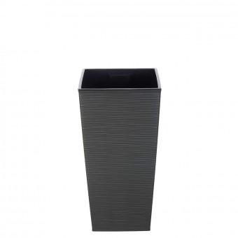 Cubremacetas plástico fine gris 36