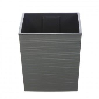 Cubremacetas plástico lucca gris 30