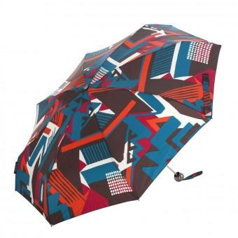 Paraguas Pertegaz mujer plegable manual geometric rojo