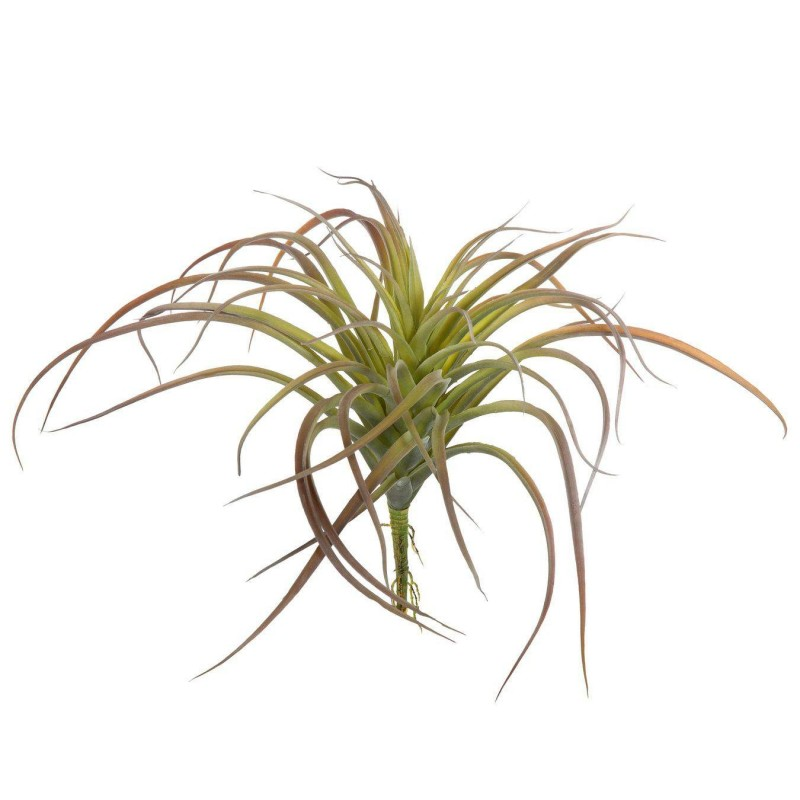 Planta artificial tillandsia verde bicolor 28
