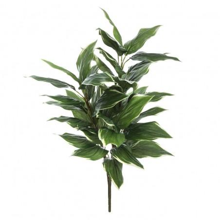 Planta artificial hosta. Alto: 85 cms. Diámetro: 45 - 50 cms.