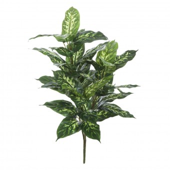 Planta artificial dieffenbachia