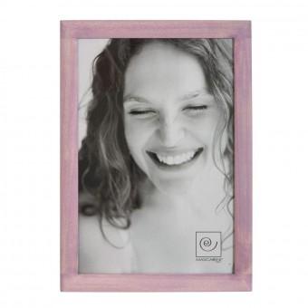 Portafotos terra madera 20x30 rosa