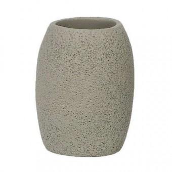 Vaso baño pomez gris