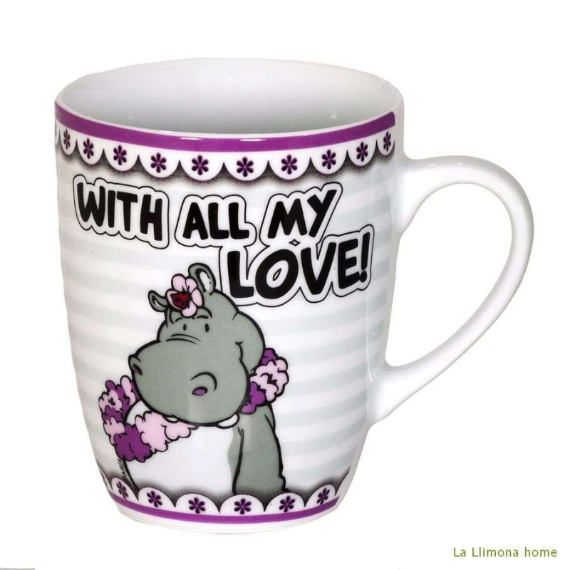 Taza Nici 'With all my love'