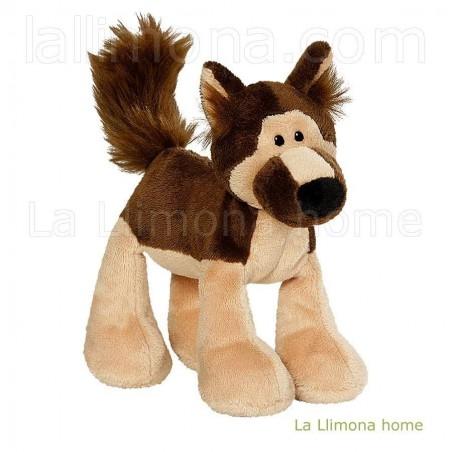Peluche de Nici perrito Mellow pastor alemán. Alto: 15 cms.
