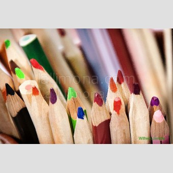 Lapices colores F00025-2 · Autor: Wifred Llimona · Fotografías artísticas detalles · La Llimona foto