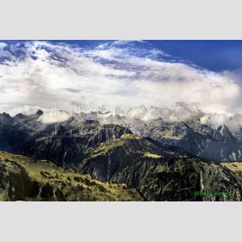Pirineos nublados F00039-2 Wifred Llimona · Fotos artísticas paisajes naturales