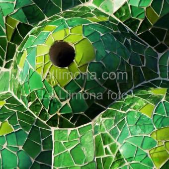 Trencadís modernista F00373-2 · Autor: Wifred Llimona · Fotografías artísticas detalles · La Llimona foto
