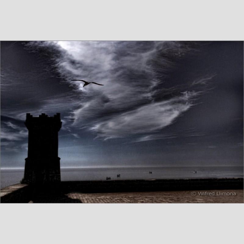 Atardecer marino F00524 Wifred Llimona · Fotos artísticas paisajes urbanos