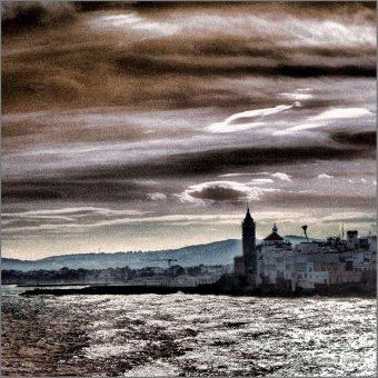 Atardecer en Sigtes F00487 Wifred Llimona · Fotos artísticas paisajes naturales