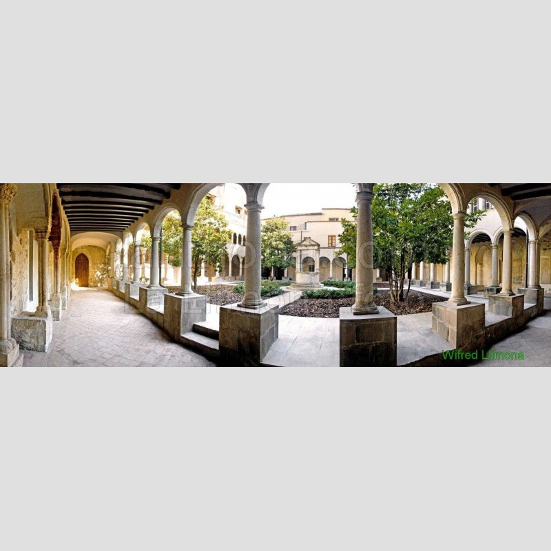 Claustro Sant Francesc F00127-2 Wifred Llimona · Fotografías artísticas