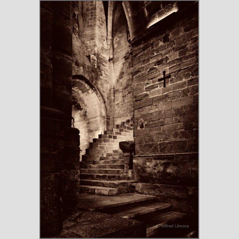 Monasterio Santes Creus F00465 Wifred Llimona · Fotos artísticas espacios