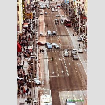 Gran Via F00116-2 Wifred Llimona · Fotos artísticas paisajes urbanos