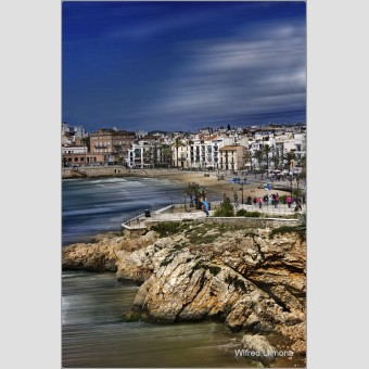Sitges F00421 Wifred Llimona · Fotos artísticas paisajes urbanos