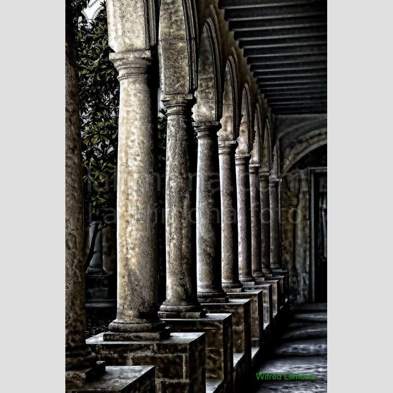Claustro Sant Francesc F00136-2 Wifred Llimona · Fotografías artísticas