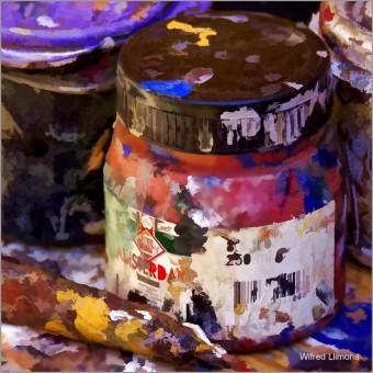 Pinturas F00700-2 · Autor: Wifred Llimona · Fotografías artísticas detalles · La Llimona foto