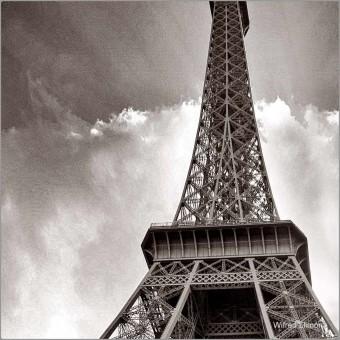 Torre Eiffel F00409-2 Wifred Llimona · Fotos artísticas paisajes urbanos