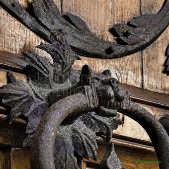 Picaporte hierro F00147 Wifred Llimona · Fotos artísticas cerraduras y picaportes