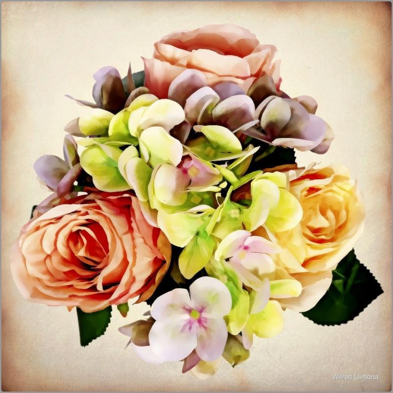 Ramo de flores F00740 Wifred Llimona · Fotografías artísticas flora