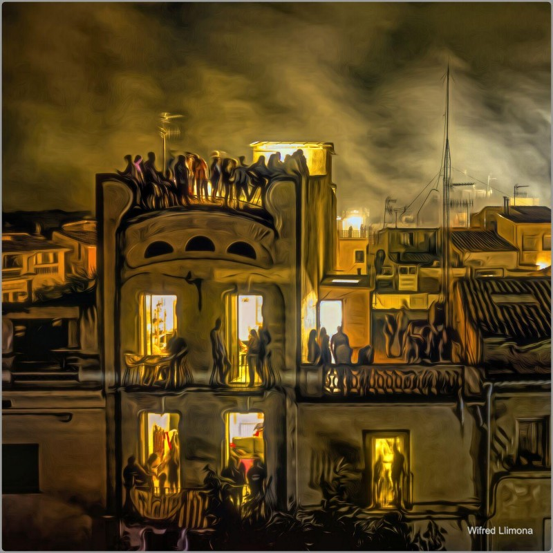 Fotografías artísticas de estilo de vida. Noche de verano F00783. Autor: Wifred Llimona