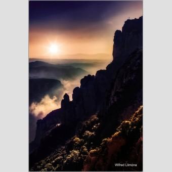 Fotografía Monserrat F00791 Wifred Llimona · Fotografías artísticas de paisajes naturales · La Llimona foto