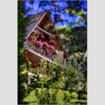 Casa de montaña F00825 · Fotografías artísticas paisajes urbanos · La Llimona foto