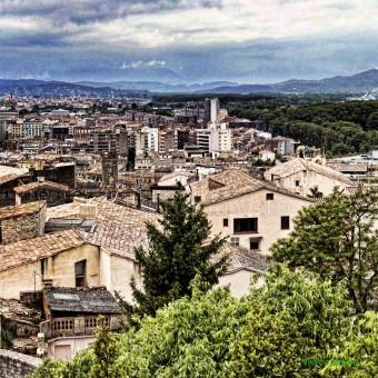 Girona panoramica F00156 Wifred Llimona · Fotos artísticas paisajes urbanos