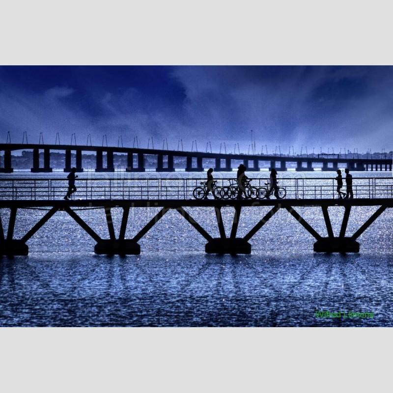 Puentes F00180-2 Wifred Llimona · Fotos artísticas paisajes urbanos