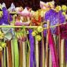 Cintas colores con flores F00198 Wifred Llimona · Fotos artísticas flora