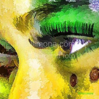 Ojos pintados F00223 Wifred Llimona · Fotos artísticas estilo de vida
