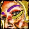 Ojos pintados F00254 · Autor: Wifred Llimona · Fotografías artísticas estilo de vida · La Llimona foto