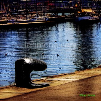 Puerto Barcelona F00271-2 Wifred Llimona · Fotos artísticas paisajes urbanos