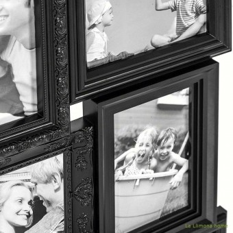 Portafotos multiple magic negro 10x15 9 fotos · Portafotos multi ventanas 2 · La Llimona home