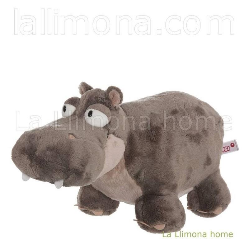 Nici hipopótamo Balduin peluche 18 · Peluches y complementos