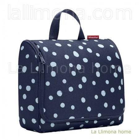 Neceser viaje Reisenthel bag spots navy XL. Alto: 25 cms. Largo: 28 cms.