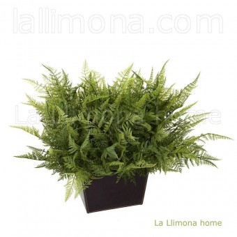 Planta boston fern artificial bush · Plantas artificiales 4