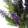 Ramas artificiales flores bush verónica lavanda · Plantas artificiales con flores 3
