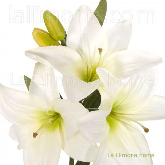 Flor lilium artificial blanco 70 · Flores artificiales 2