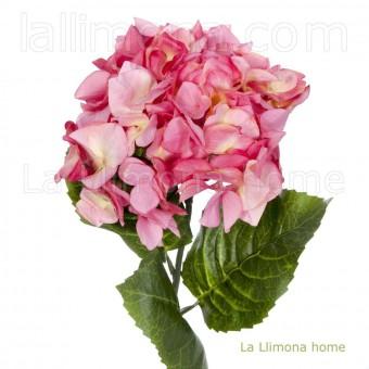 Flor hortensia artificial fucsia 78 · Flores artificiales · La Llimona home