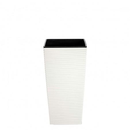 Cubremacetas fine blanco. Alto: 36 cms. Ancho: 18.50 cms.