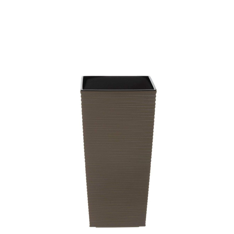 Cubremacetas plástico fine marrón 36 · Macetas y jardín · La Llimona home