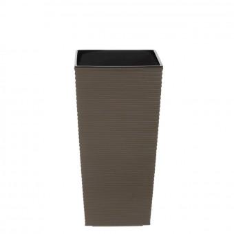 Cubremacetas plástico fine marrón 47 · Macetas y jardín · La Llimona home