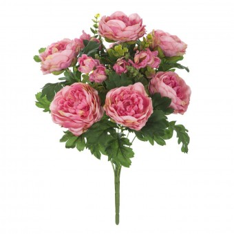 Ramo flores artificiales peonias rosas 45 · Ramos flores artificiales · La Llimona home